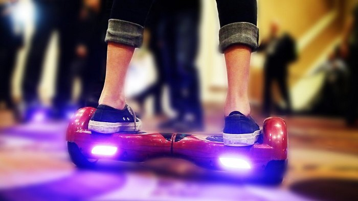 Hoverboard is popular